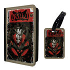 Dracula Comic Printed Luggage Tag & Passport Holder - T2720