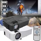 HD 1080P Projector Portable Stylish Small Theater LED LCD 1000 Lumen 1080P HYFG