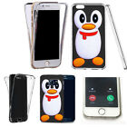 360° Silicone gel shockproof case cover for most mobiles -design ref zq131 clear