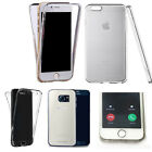 360° Silicone gel shockproof Case Cover for many mobiles -design ref zq144 clear