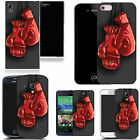 hard durable case cover for most mobile phones - red boxing gloves