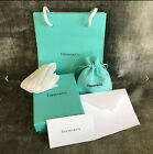Tiffany & Co NEW Empty Blue Box Suede Pouch Gift Bag Polishing Cloth Packaging