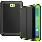 Heavy Duty Folio Stand Case Smart Cover For Samsung Galaxy Tab A 10.1 SM-T580
