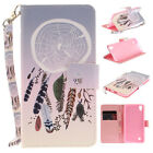 For LG Cover Magnetic Card Case Stand Flip PU Leather Belt Wallet Patterned Skin