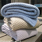 Knitted Carpet Blanket Air-conditioned Blanket Sofa Office Blanket 130*170cm