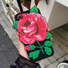 3D Creative Rose Flower Soft Silicone Case Back Cover For iPhone 6 6s 7 / Plus