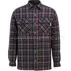 Wolverine Flannel Jacket Mens Forester Plaid Shirt Jackets Lined Shirt W1200440