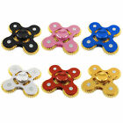 New Five Gear Linkage Rotate Top Level Fidget Hand Spinner EDC Focus Finger Toy