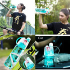 New Spray Water Bottle Cool Professional Outdoor Sports Drinking Spray Bottle
