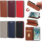 Magnetic Flip Cover Stand Wallet PU Leather Case for iPhone 5 5S SE 6 6S 7 Plus