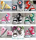 S002 - Baby First walkers hand Crochet converse shoe size 0 to 12 months