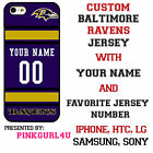 Baltimore Ravens Phone Case Cover iPhone 7 7PLUS 6S Samsung iPod LG Name & No