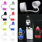 2x Universal Silicone Vape Band Anti Slip Mouthpiece Dust Cap for RTA RDA Tank