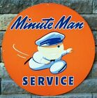 Union 76 Minute Man Service 1950's Logo Mens Embroidered Polo S-6XL, LT-4XLT New