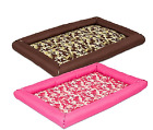 Dog Durable Snoozzy Precision Crate Pet Bed Bumper Mat Warm Padding Cushion Soft
