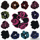 New Accessories Hairclips Flower Scrunchies Hair Ring Elastic Hair Rope Velvet