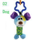 1PC Deer Chicken Musical Animal Baby Rattle Hand Bell Doll Stroller Plush Toy