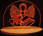 """Wedding Centerpiece Edge Lit 13"""" Lighted Sign LED Plaque Made In USA Bells"""