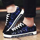 Men's Fashion Breathable Plate Shoes Sneakers Casual Canvas Shoes Sport Trainers