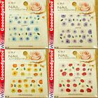 Color Printing Water Tranfer Nail Art Stickers Red Blue Sun Flower Style 6-3740