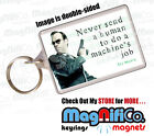 Novelty Keyring - The Matrix Movie Quotes - Keanu Reeves - Neo - Wachowski Bros