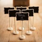 Mini Wooden Message Number Standing Blackboard Wedding Favor Party Table Decor