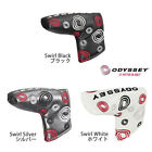 ODYSSEY SWIRL PUTTER COVER/HEADCOVER (VARIOUS COLOURS) BLADE