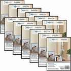 Mainstays 5x7 Format Picture Frame Home Decor Display Set Of 12 BLACK or WHITE
