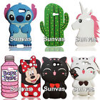 3D Cartoon Soft Silicone Case Phone Back Cover Skin for Samsung Galaxy J3 2017