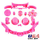 Custom RB LB ABXY Guide Buttons Parts Dpad For Xbox 360 Controller Matte Pink