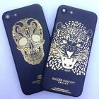 Gold Skull Lion Limited Edition Back Housing Cover Case Frame For iPhone 7 Plus