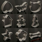 Cookie Cutter Pastry Cake Decorating Aluminum Baking Mould DIY Kitchen Tool