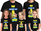 Spongebob Birthday Shirt Personalized Name and Age Custom Family Tees
