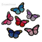 10 Embroidery Butterfly Sew Iron On Patches Sticker Dress Fabric Sewing Applique