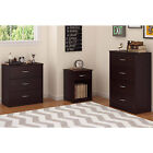 كومودينو جديد 3-4-Drawer-Dresser-Nightstand-Chest-Bedroom-Furniture-Storage-Wood-Multi-Colors
