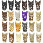 """24""""/60cm 100g Invisible Fish Line Hair Extensions Wavy Curly Synthetic Hairpiece"""