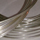 925 Sterling Silver Round Wire (Soft) 0.3mm to 2.5mm