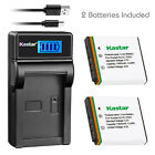 Kastar KLIC-7001 Charger Battery for Kodak EasyShare M753 Zoom M763 M853 Zoom