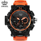 SMAEL Fashion Men Watch LED Dual Display Digital Electronic Sport Wrist Watches image