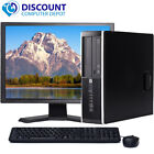 CLEARANCE!!! Fast HP Desktop Tower Computer PC i3 WINDOWS 10 Home / Pro