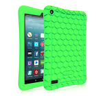For Amazon Fire 7 2017 Fire 7 2015 ShockProof Silicone Case Kids Friendly Cover