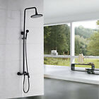 Wall Mounted Oil Rubbed Bronze Shower Faucet Bathtub Mixer Single Handle Shower
