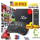 NEW 17.3 XGODY X96 Android 6.0 NEW TV BOX S905X Quad Core Media i8 Keyboard HDMI