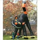 For Halloween Decoration Giant Inflatable Black Cat 20ft New Lovely Animated X
