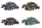 New Large Vintage Style 1940's 1950's Flower Spray Brooch
