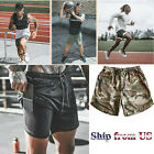 Mens Sports Training Running Bodybuilding Workout Fitness Shorts Gym Pants