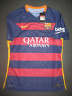 2015-2016 Nike Authentic FC Barcelona Match Home Jersey Shirt Kit Messi Neymar