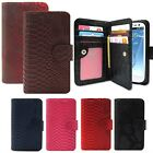 Luxurious Anaconda Wallet Case for Samsung Galaxy Phone / S7/6 Note5/4 A7/5 J5