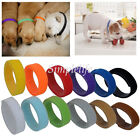 12 colors Identification ID Collars Bands Whelping Puppy Kitten Dog Pet Resuable