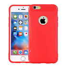 Shockproof TPU Flexible Silicone Protective Back Case Cover For iPhone 6 Plus